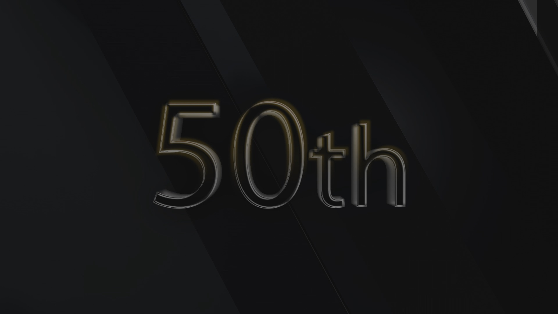 50th anniversary 1 Christian Animated Still A professional animated intro that's stops on a still image without continuous movements distraction