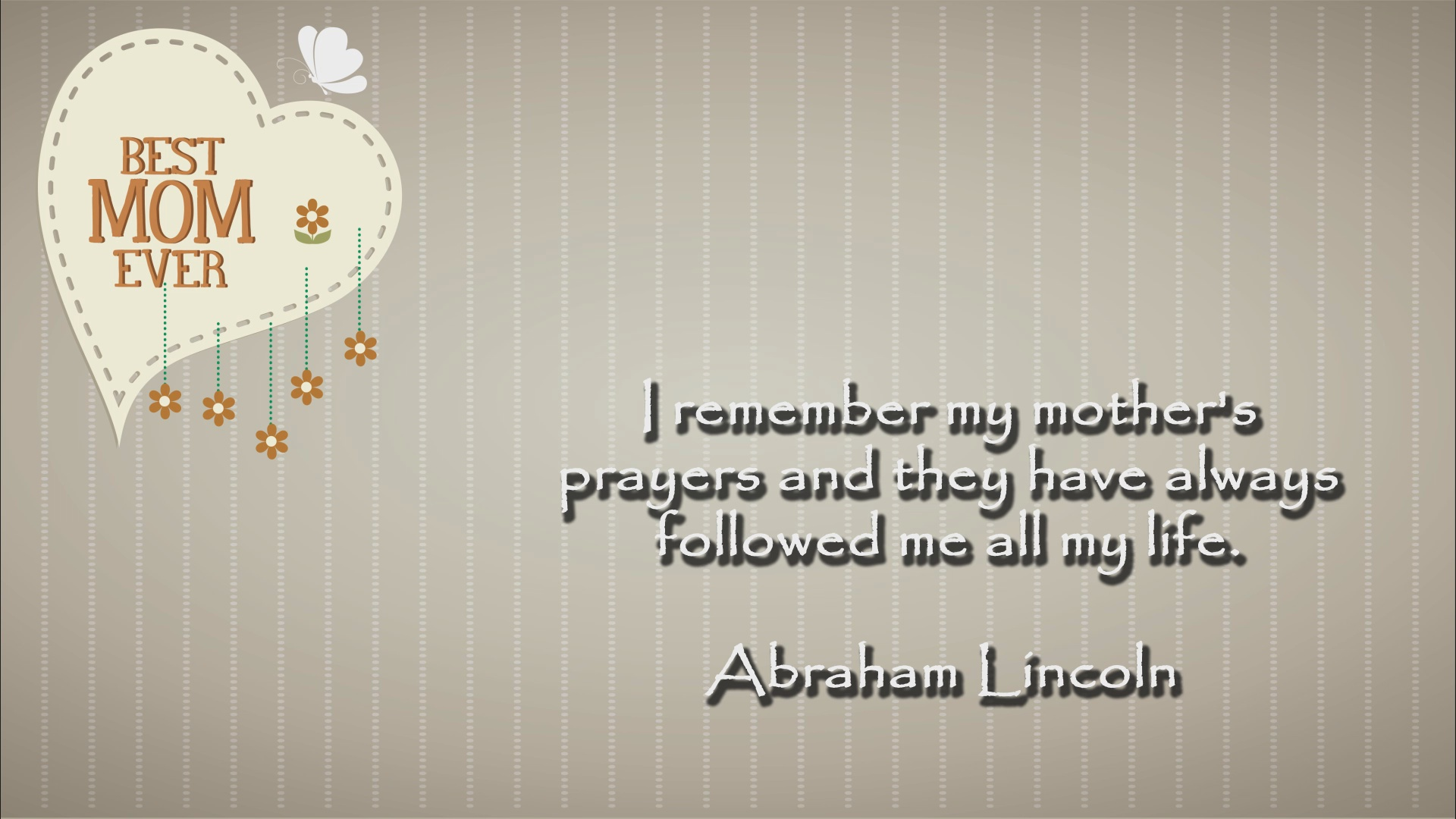 Abraham Lincoln Quote 2 Christian Animated Still A professional animated intro that's stops on a still image without continuous movements distraction