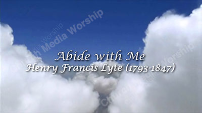 Abide with me Historical Christian Worship Video. A professional video that goes well with Sermons, Music, and worship. Dedicated to spreading the Gospel